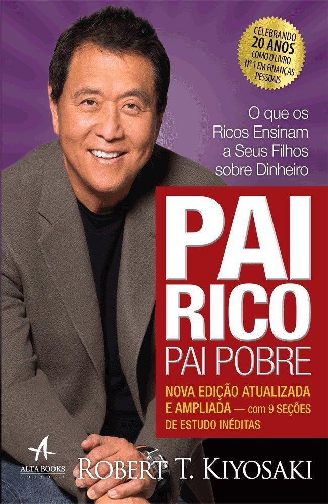 livro de empreendedorismo Pai Rico Pai Pobre - Robert Kiyosaki