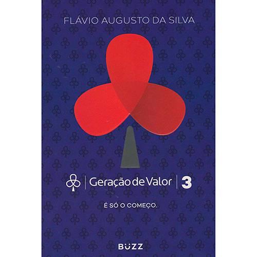 livro de empreendedorismo Geração de Valor 3 - Flavio Augusto