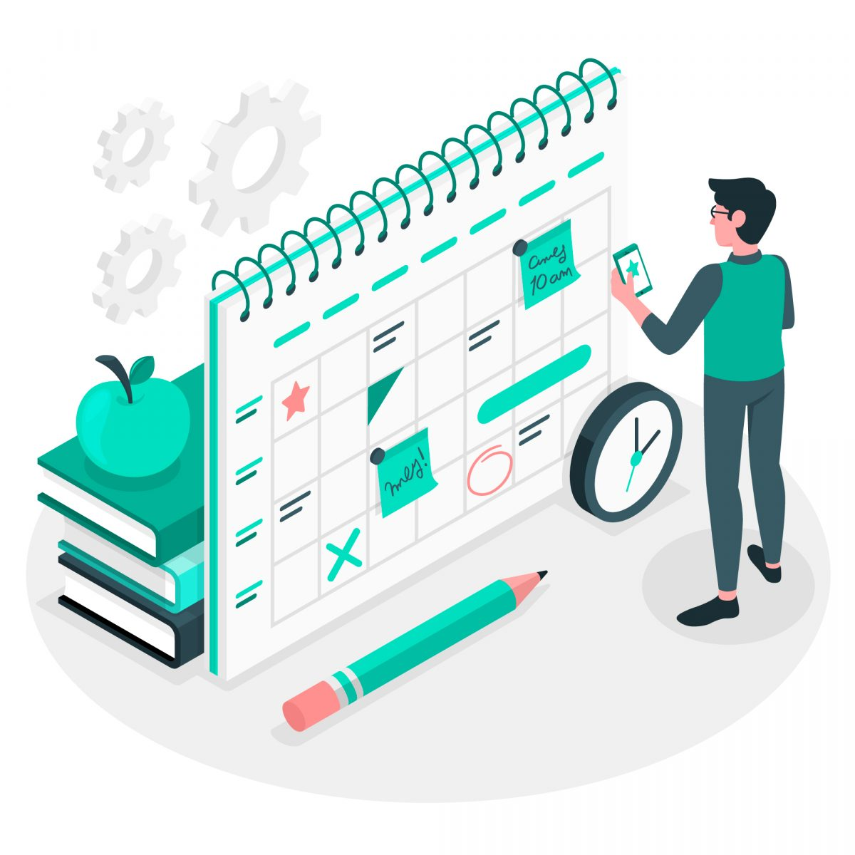 cronograma de estudos - blog kultivi