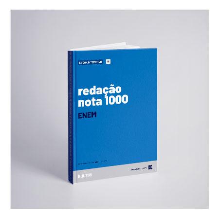 capa do livro digital redação nota mil enem