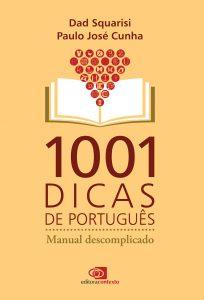 capa do livro 1001 dicas de português. Clique na imagem para conhecer o livro