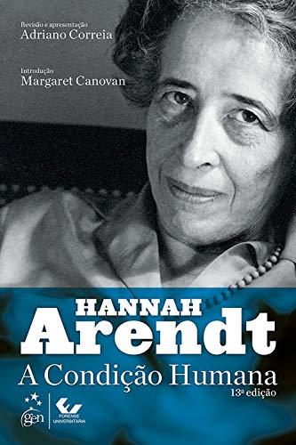livro de direito - A condição humana – Hannah Arendt